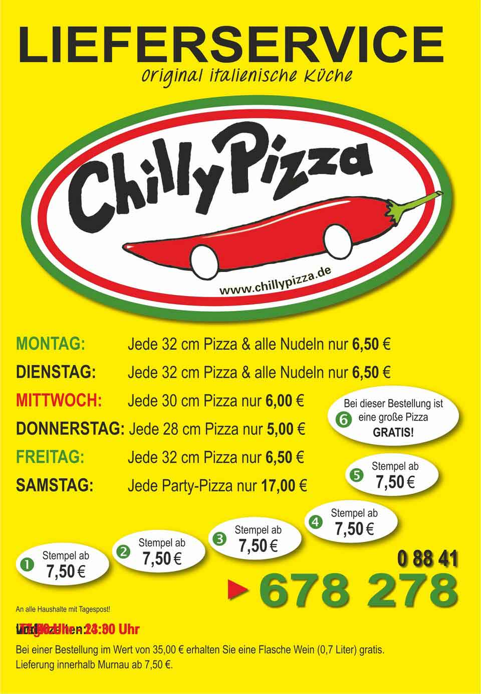 Chilly Pizza Lieferservice